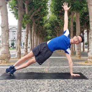 Side Plank Pose Vasisthasana Roy Gan