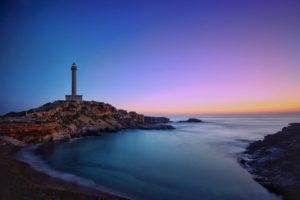 faro, lighthouse, sea
