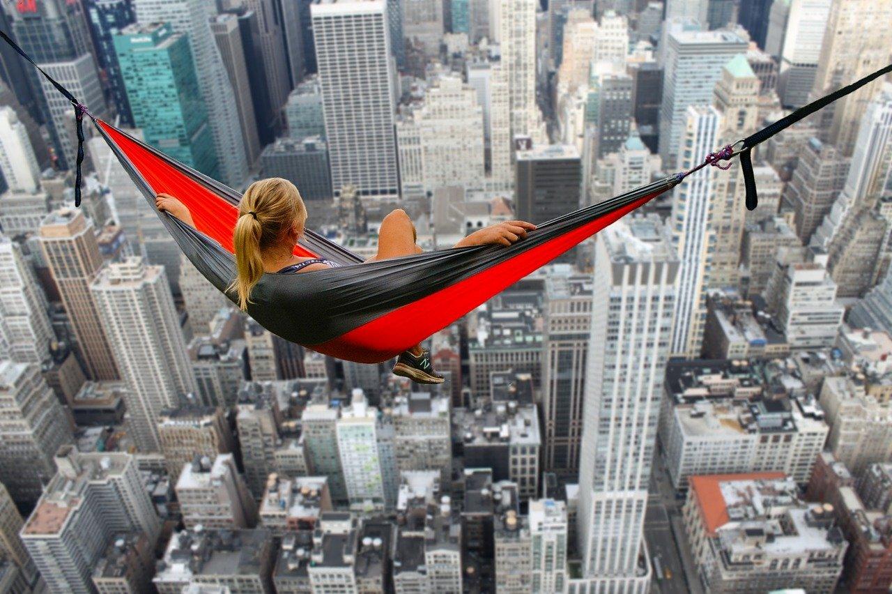hammock free fall
