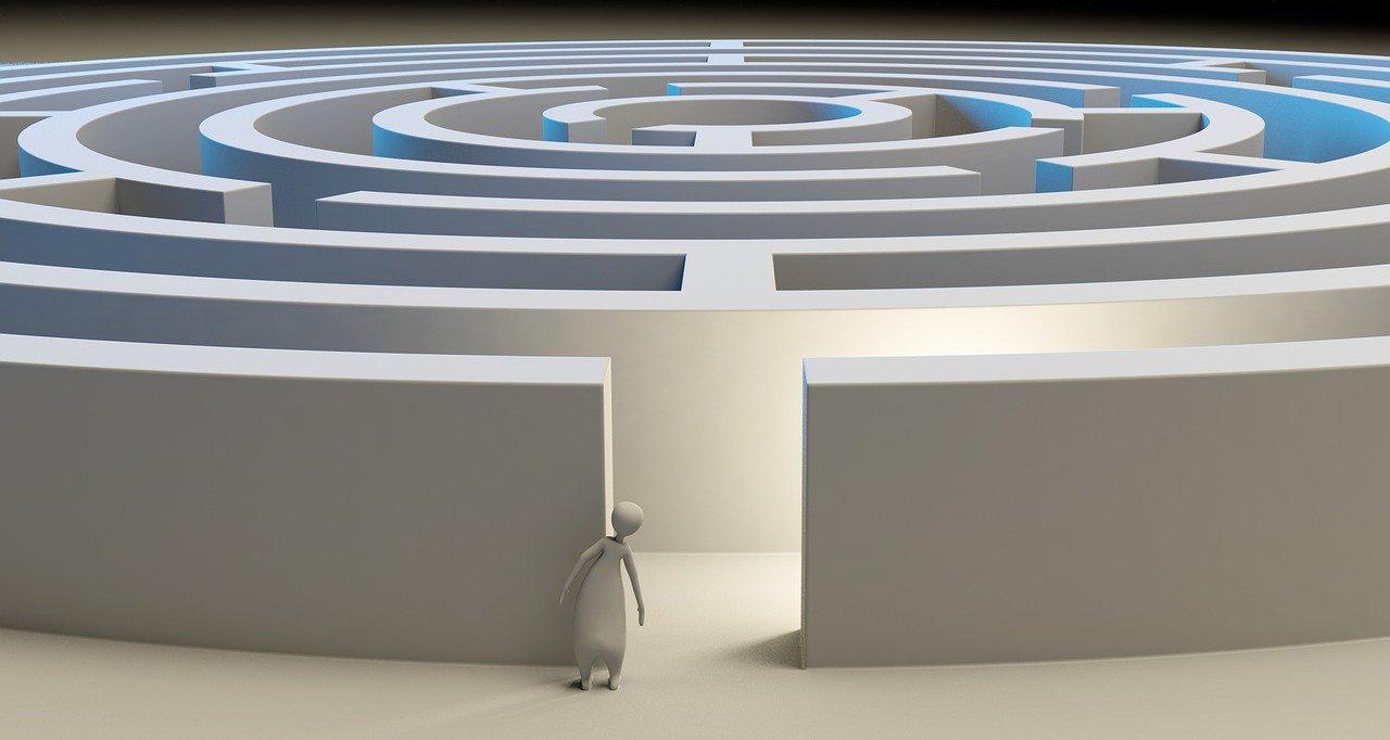psychological maze