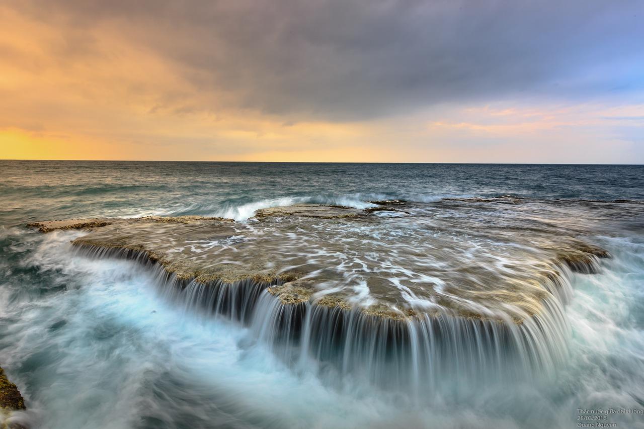 sea, ocean, flow