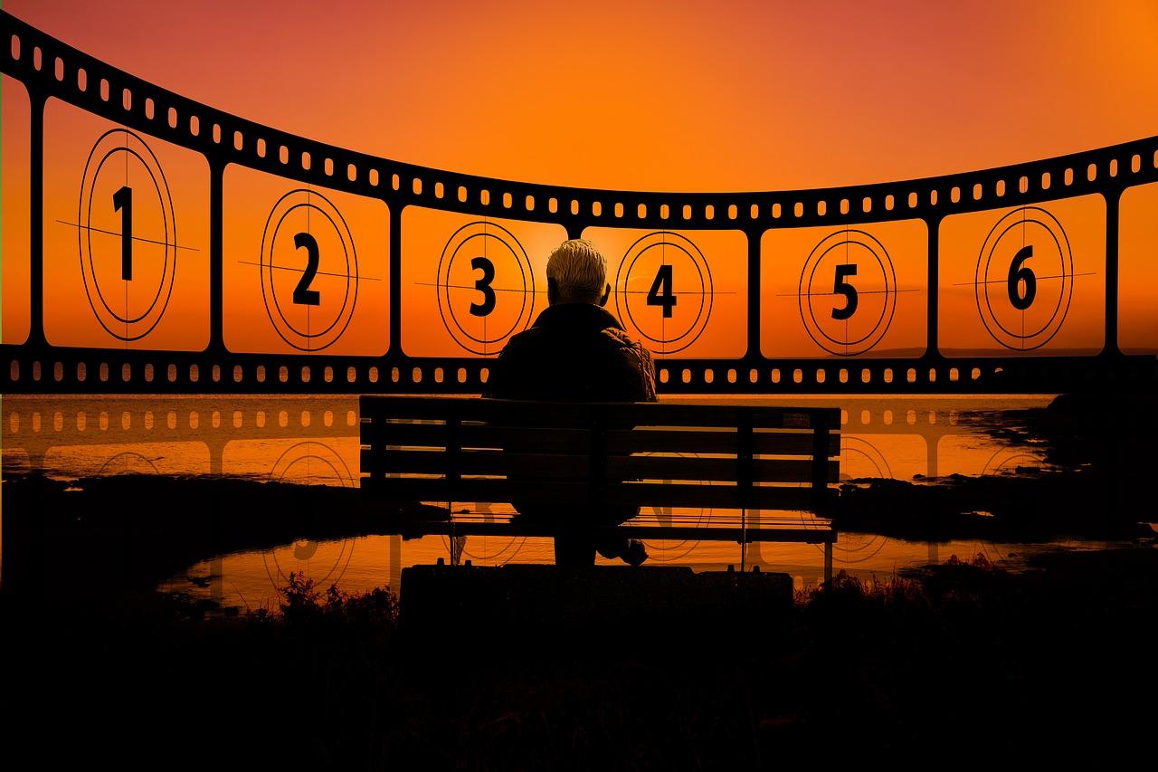 sunset, cinema, demonstration