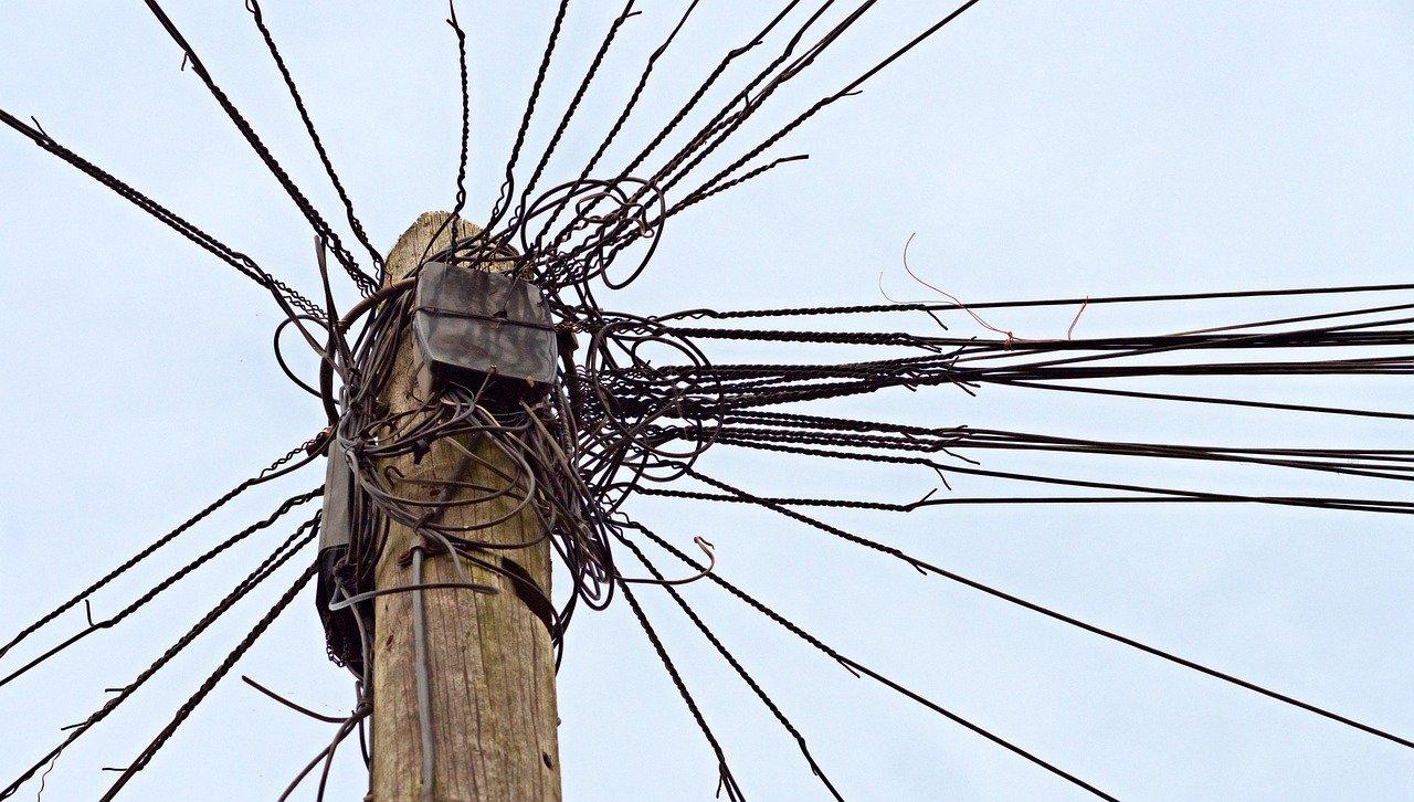 telephone, telegraph, pole