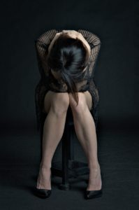woman, despair, loss